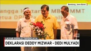 Deklarasi Deddy Mizwar - Dedi Mulyadi & Ridwan Kamil - UU Ruzhanul Ulum