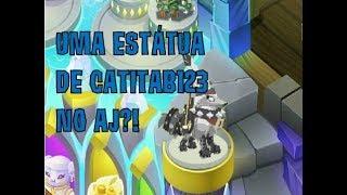 UMA ESTÁTUA DE CATITAB123 NO ANIMAL JAM?!