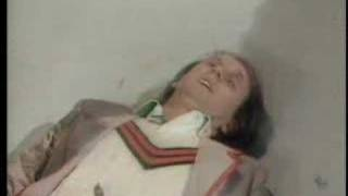 Fifth Doctor regenerates - Doctor Who - The Caves of Androzani - BBC
