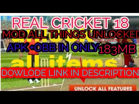 Xxx Mp4 How To Dowlode Real Cricket 18 Mod In 183mb Doalode Link In Description Latest Verison 3gp Sex