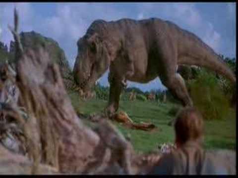 Jurassic Park T rex Music Video