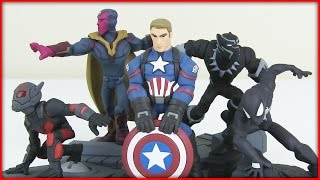New Marvel Battleground Disney Infinity 3.0 Unboxing! Ant-Man! Black Panther & More!