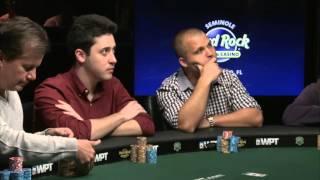 WPT Seminole Hard Rock Poker Finale. Final table webcast