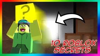 10 ROBLOX SECRETS