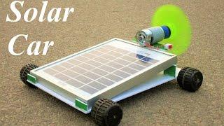 How To Make a Solar car - solar air car