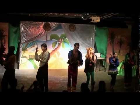 Thalassa village skanes 2012 Tunezja wakacje taniec animatorów