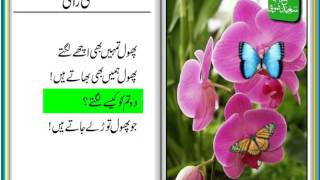 Titli Raani (Urdu Poem for Kids) - تتلی رانی