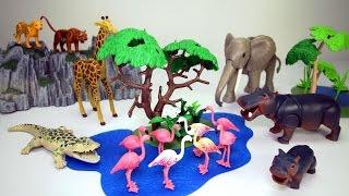 Playmobil Zoo Jungle Safari Animals Playsets Collection - Fun Toys For Kids