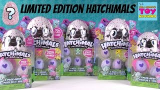 Hatchimals Colleggtibles Surprise Egg 2 & 4 Pack Opening Limited Edition Found | PSToyReviews
