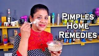 Home Remedies For Pimples by Sonia Goyal @ ekunji.com