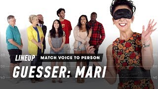 Match Voice to Person (Mari)   Lineup   Cut