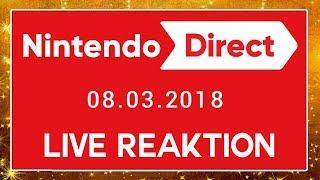 🔴 NINTENDO DIRECT 08.03.2018 (SUPER SMASH BROS. SWITCH) 🎇 Domtendos Live Reaktion