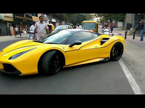 Xxx Mp4 Novitec Ferrari 488 GTB Loud Start Up Revs Fly Bys And More Supercars In Bangalore 3gp Sex