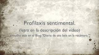Monica Gae - Profilaxis sentimental