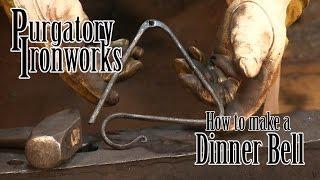 Blacksmith Forged Dinner Bell