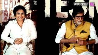 TE3N Movie Trailer Launch | Amitabh Bachchan | Vidya Balan | Full Video | Part 4