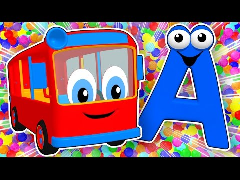 SUPER CIRCUS 3D Alphabet Buses Learn ABCs for Kids Teach Colors 3D Baby Rhymes by Busy Beavers