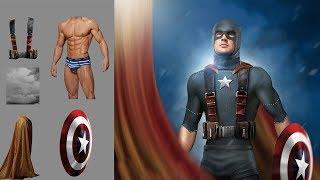 Body Compositing & Manipulation Photoshop Tutorial