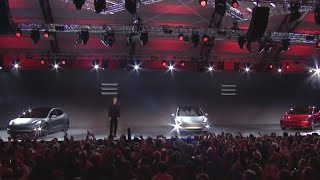 Tesla unveils much-anticipated and affordable Model 3