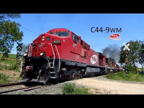 GE C44 9WM 9037 Tanqueiro da América Latina Logística ALL
