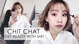 陪我邊聊天邊化妝♡♡ CHIT CHAT / GET READY WITH ME!!
