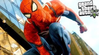 GTA 5 SPIDERMAN HOMECOMING MOD! New Suit, Powers & More! GTA 5 Mod Gameplay