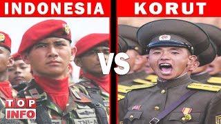 TAK DISANGKA!! INILAH PERBANDINGAN MILITER INDONESIA VS KORUT