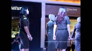 VIDEO Tak Disangka, Ternyata Jaksa Cantik-cantik Kejati Jateng Pandai Lenggak-Lenggok