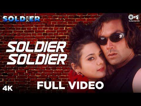 Soldier Soldier Meethi Baaten - Soldier | Bobby Deol & Preity Zinta | Kumar Sanu & Alka Yagnik