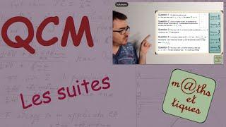 QCM : Généralités sur les suites - Première S