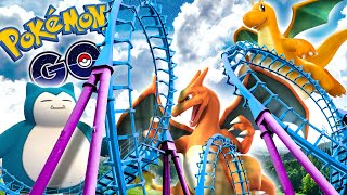 POKEMON GO - ROLLER COASTER POKEMON?