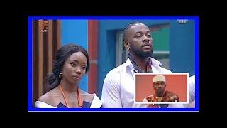 BBNaija 2018: Bambam evicted from reality show | Big Brother Naija: Double Wahala 2018