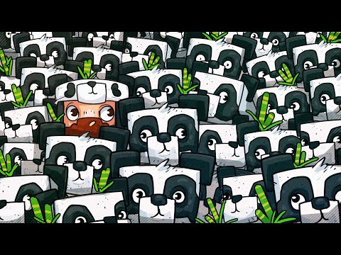 We Filled Panda s House With Pandas Minecraft