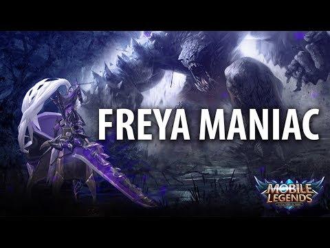 Mobile Legends : FREYA UNSTOPPABLE High Damage Build