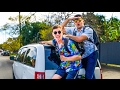 24 Hour Hitchhike Challenge!! (MADE IT TO MEXICO)  | Yes Theory