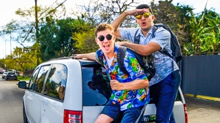 24 Hour Hitchhike Challenge!! (MADE IT TO MEXICO)    Yes Theory