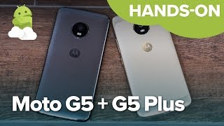Moto G5 + Moto G5 Plus Hands-on from MWC 2017!