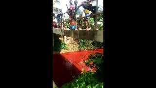 Water turned into blood in Koforidua, Eastern Region - Ghana OMG....The end is near.