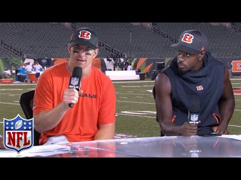 Andy Dalton and A.J. Green on Their Potential for the 2018 Season NFL Network