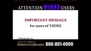 Goldwater Law Firm: Vioxx