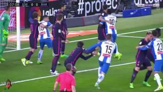 #الجولة_35 مباراة برشلونة واسبانيول [كاملة] الدوري الاسباني تعليق الشوالي 29-04-2017-HD