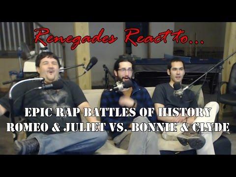 Renegades React to... Epic Rap Battles of History Romeo & Juliet vs. Bonnie & Clyde
