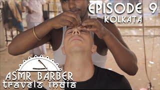Indian Street Barber - Relaxing Head Massage - ASMR no talking