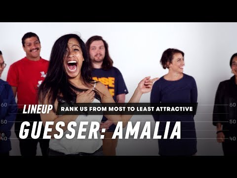 Rank Me From Most Attractive to Least Attractive Amalia Lineup Cut