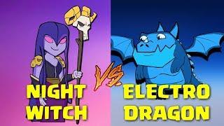 CLASH ROYALE ANIMATION PARODY - ELECTRO DRAGON / DRAGON ELECTRICO
