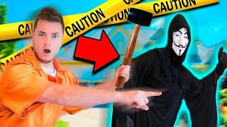 Chasing GAME MASTER Out Of MY House! Escaping BOX FORT PRISON Maze Escape Room (Project Zorgo)