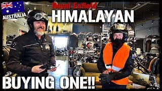 Buying a New Royal Enfield Himilayan in Australia