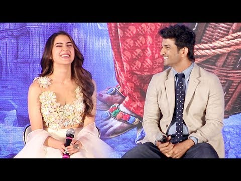 Xxx Mp4 Sara Ali Khan Sushant Singh Rajput At Kedarnath Trailer Launch Complete Video HD 3gp Sex
