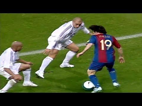 Xxx Mp4 19 Year Old Messi Vs Roberto Carlos Cannavaro Ramos ● Lionel Messi Vs Real Madrid 22 10 2006 3gp Sex
