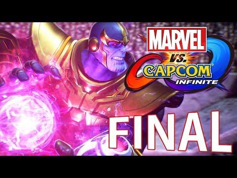 Marvel Vs Capcom Infinite - FINAL ÉPICO!!!! [ PC - Playthrough ]